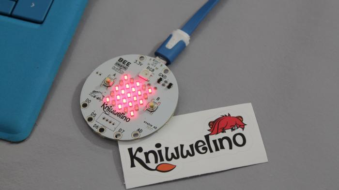Kniwwelino: der runde Mikrocontroller aus Luxemburg