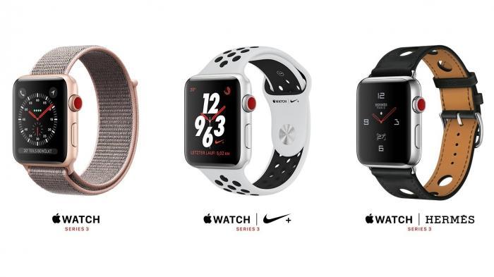 Apple Watch Series 3 mit LTE: Telekom verliert Monopol