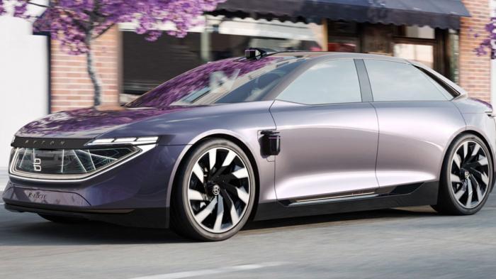 Autonomes Elektro-Luxusauto: Byton zeigt E-Limousine K-Byte