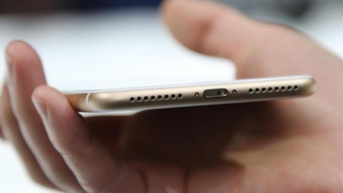 iPhone 7 mit Lightning-Anschluss