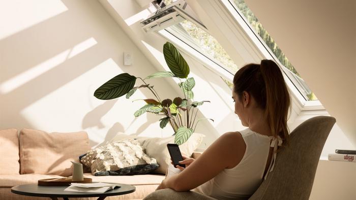 Fenster mit HomeKit-Steuerung