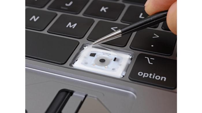 Teardown: Neue MacBook-Pro-Tastatur offenbar krümelsicher(er)