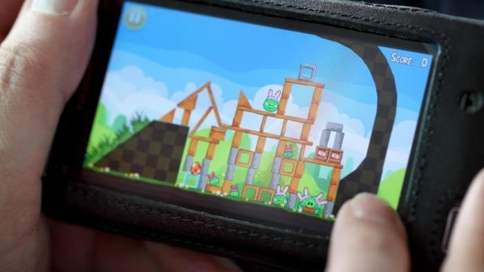 Spiel auf Smartphone
