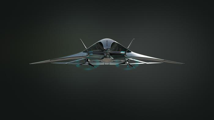Volante Vision Concept: Aston Martin arbeitet an Luxus-Senkrechtstarter