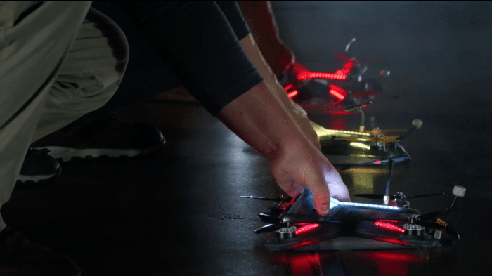 Drone Racing League: Vollgas mit Drohne