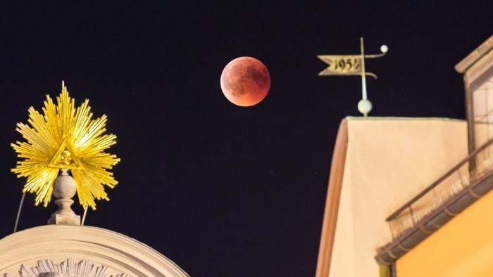 Mondfinsternis 2018: Die besten Mondfotos aus der Galerie
