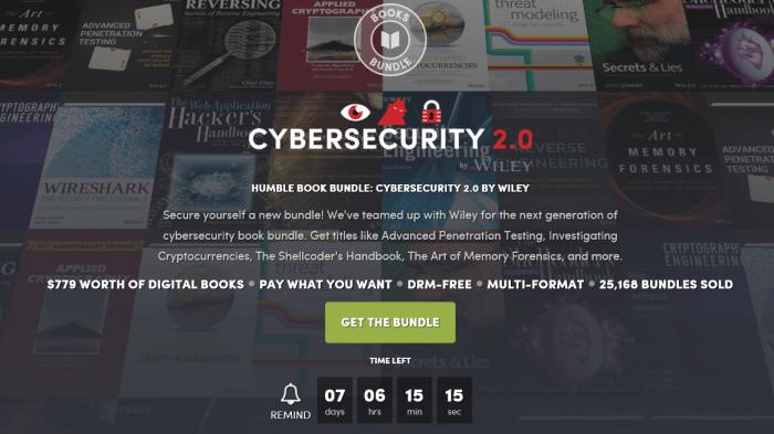 Humble Book Bundle: Cybersecurity-Klassiker für wenig Geld