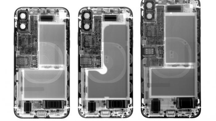iPhone XS und XS Max aufgemacht