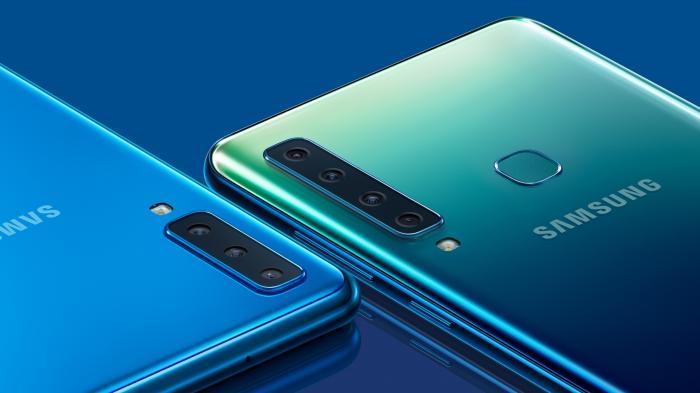 Samsung Galaxy A9 hat vier Hauptkameras
