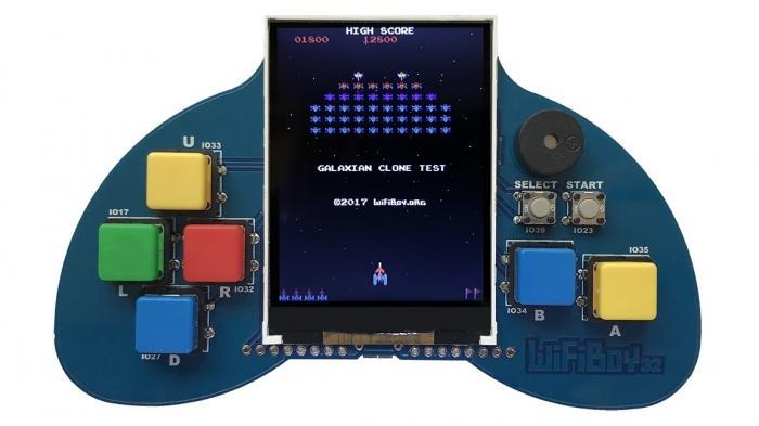 WiFiBoy32: Spielekonsole für den ESP32