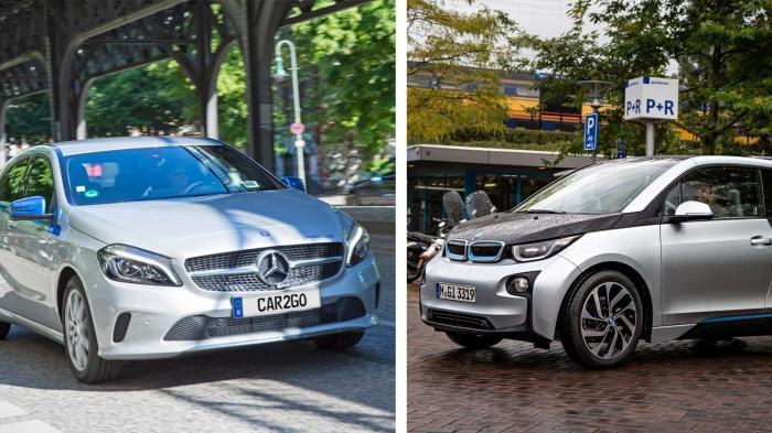 Carsharing-Fusion von Daimler und BMW unter Auflagen erlaubt