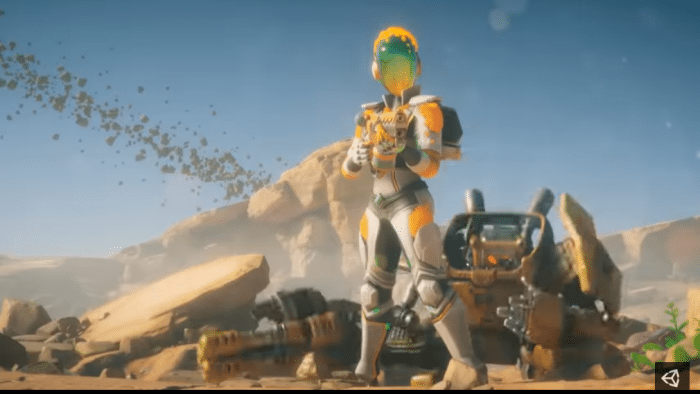 Spiele-Engine Unity 2018.3