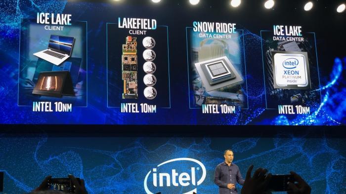 Intel demonstriert 10-nm-CPUs von klein bis groß