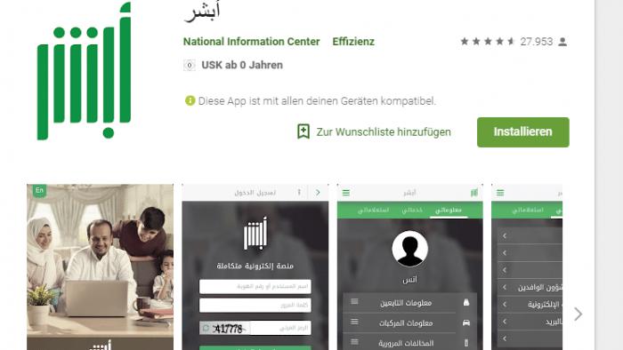 Apple und Google: App erlaubt Männern in Saudi-Arabien ihre Frauen zu tracken