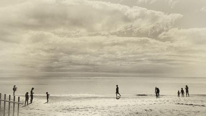 Strandleben von Galeriefotograf Wilhelm Schultes