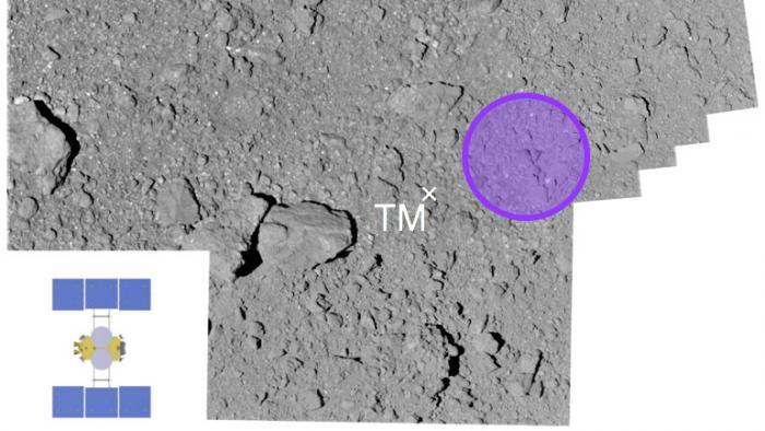 Japanische Raumsonde Hayabusa2 landet auf Asteroiden Ryugu
