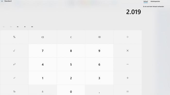 Nie wieder Kopfrechnen: Windows Calculator wird Open Source