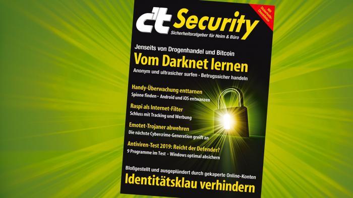 Sonderheft c't Security jetzt vorbestellen!