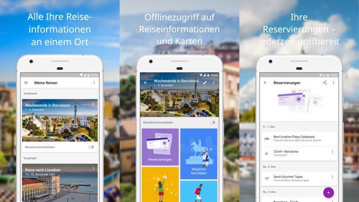 """Google stellt Reise-App """"Trips"""" ein"""