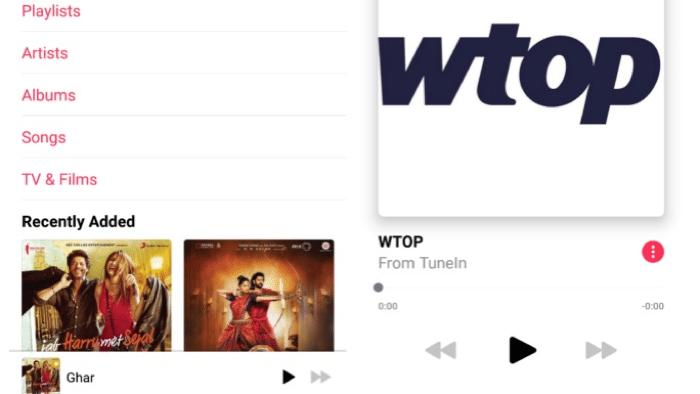 Apple Music für Android spricht Chromecast