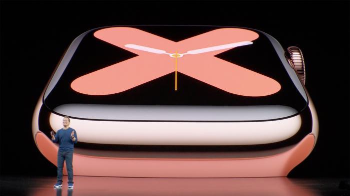 Apple Watch 5 mit Always-on-Display