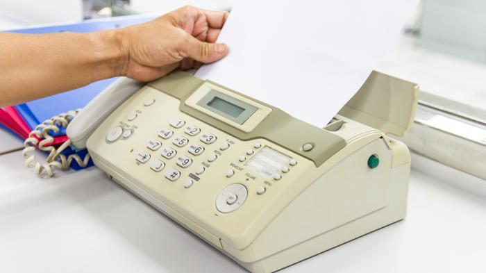 Faxen bei Behörden – voll retro oder voll richtig?