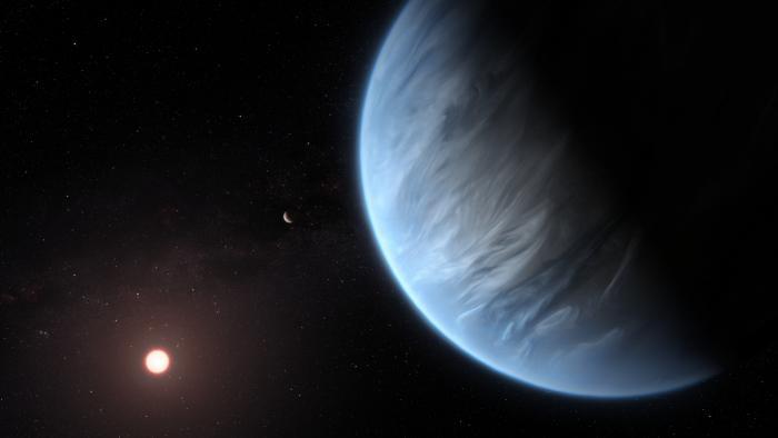 Erstmals Wasser bei Exoplaneten im habitabler Zone nachgewiesen