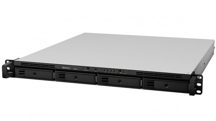 RackStation RS820+: NAS mit vier Laufwerken fürs Rack