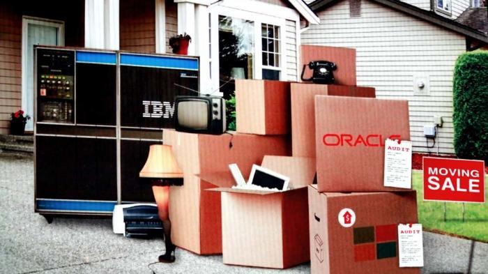 AWS: IBM, Oracle und Microsoft gehören in den Entrümplungsverkauf