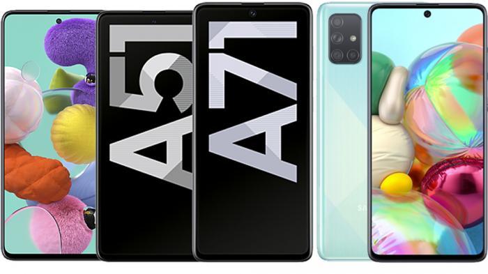 Galaxy A51 und A71: Samsung frischt die Mittelklasse auf