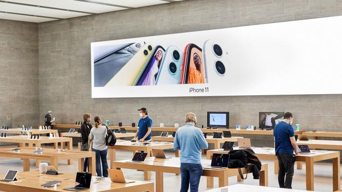 """Apple plant """"Drive-In""""-Option für Läden"""