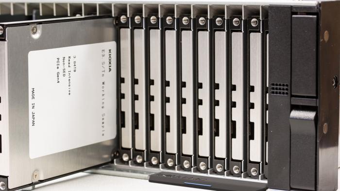 PCI-Express-SSDs: Kioxia zeigt erste Prototypen im E3.S-Formfaktor