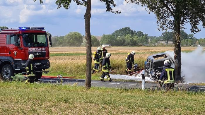 Brennende Elektroautos als weitere Herausforderung für die Feuerwehr