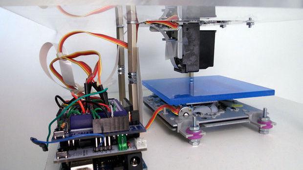 DIY Bio-Drucker druckt mit lebenden Zellen