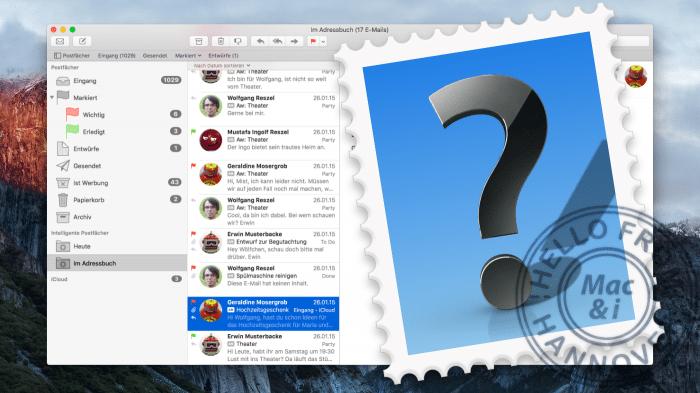 Apple Mail Tipps