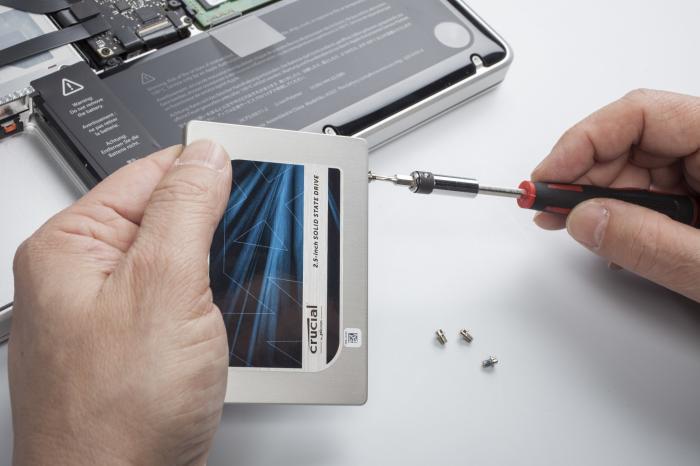 MacBook Pro SSD Einbau
