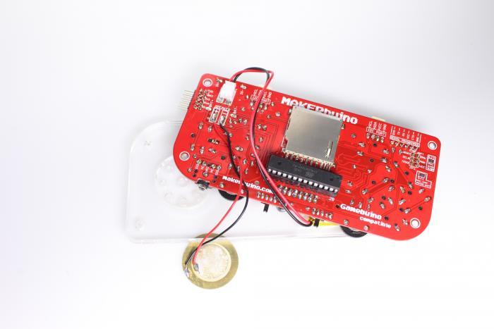Makerbuino von hinten