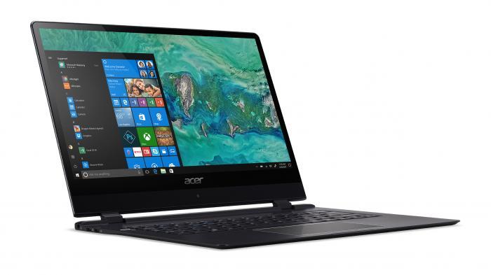 Acer zeigt 9-mm-Flunder Swift 7