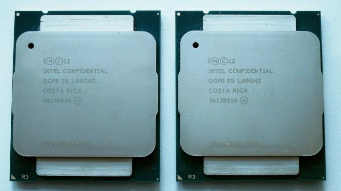 Intel Xeon E5-2600 v3: Zwei Haswell-EP-Chips