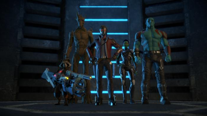 Guardians of the Galaxy: The Telltale Series angespiel - Helden mit kleinen Fehlern