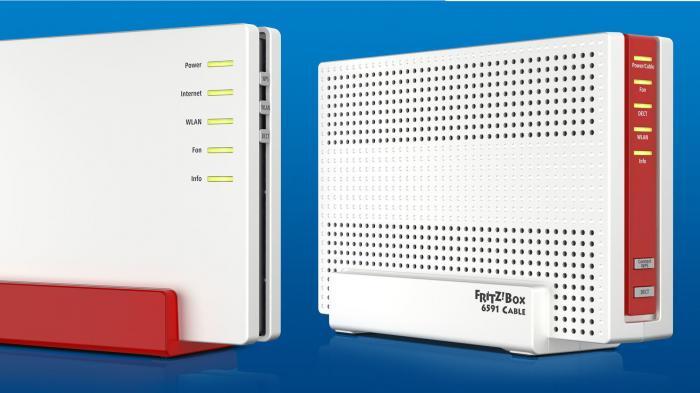 kabel und dsl router avm k ndigt fritzboxen mit gigabit internet anschl ssen an heise online. Black Bedroom Furniture Sets. Home Design Ideas