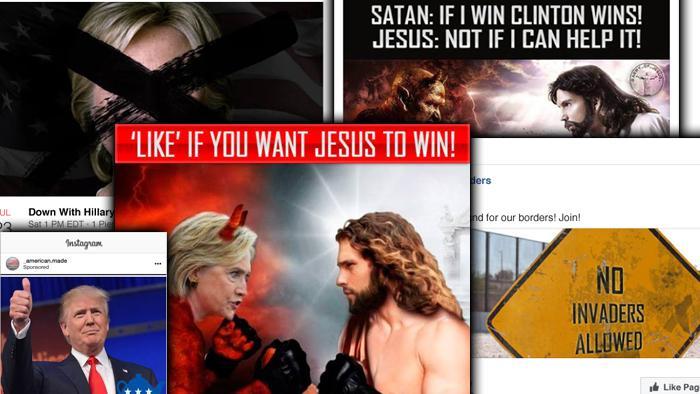 US-Wahlmanipulation: Russisch finanzierte Anzeigen veröffentlicht
