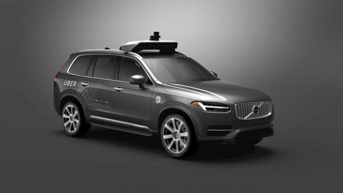 Volvo liefert Autos für autonomes Fahren an Uber