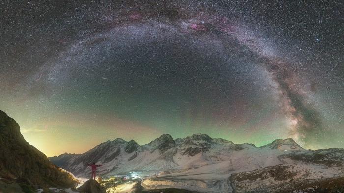 Nachthimmel, Milchstraße