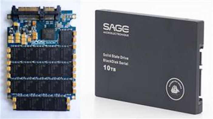 Sage Micro zeigt 10-TByte-SSD
