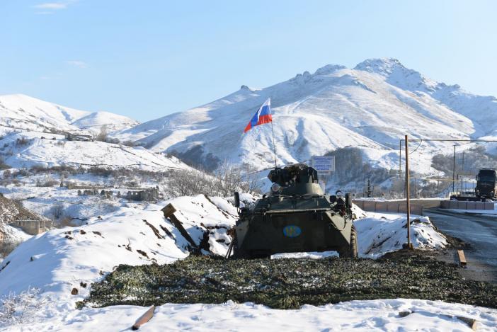 Krise zwischen Armenien und Aserbaidschan um Berg-Karabach