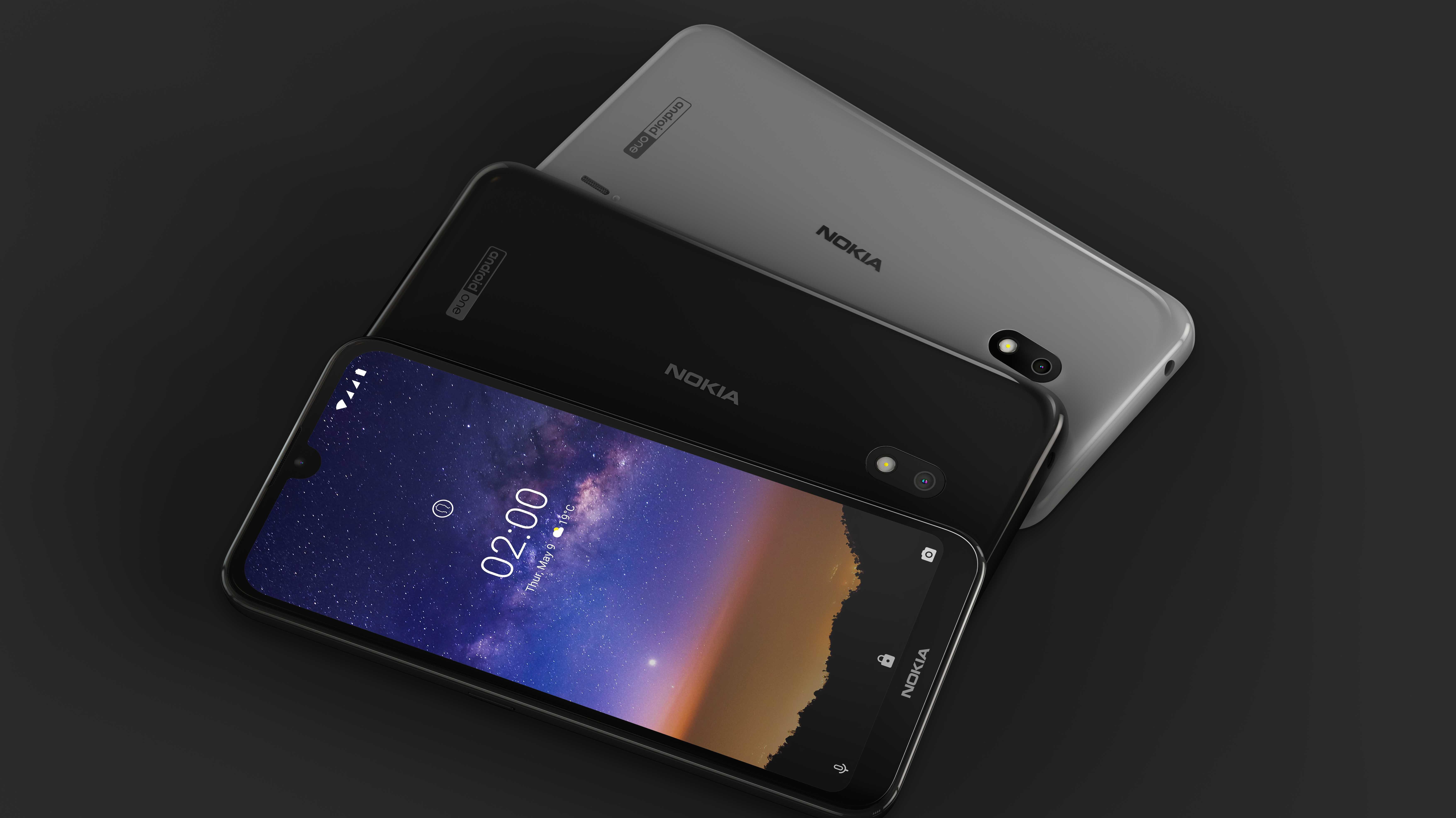 Nokia 2.2 und Nokia 3.2: Einsteiger-Handys mit Android One und Sondertasten vorgestellt