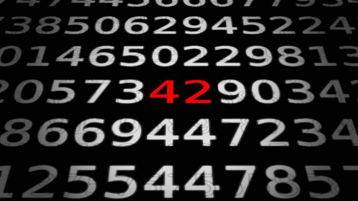 Zahlen, bitte! 42, oder: der Sinn der Computerkunst
