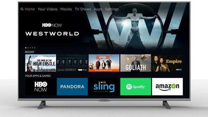 Amazon: Fire TV kommt auf 4k-Fernseher