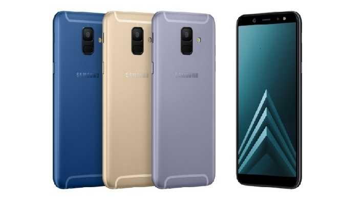 Galaxy A6 und A6+: Mittelklasse-Handys mit DualSIM und Selfie-Power